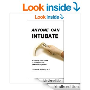 cover for Kindle version of Anyone Can Intubate