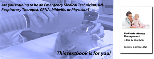 Header pic for page describing textbook Pediatric airway Management: a Step-by-Step Guide